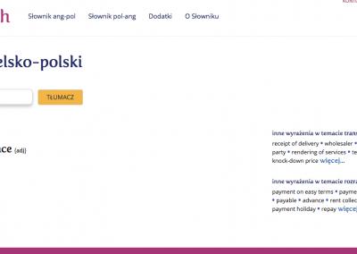 słownik on-line rachunkowości